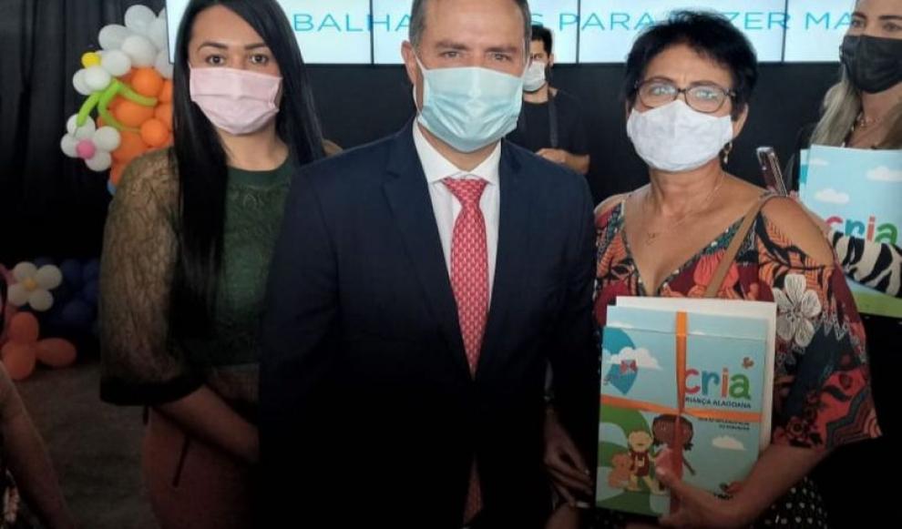 Equipe da Assistência Social Participa do Lançamento do Cartão CRIA  pelo Governo de Alagoas