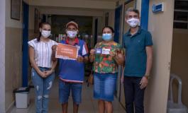 Profissionais da Educação começam a ser vacinados pela Prefeitura de Olivença