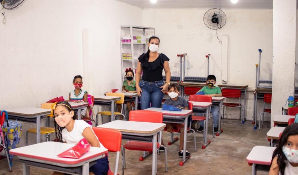 Prefeitura de Olivença retoma as aulas presenciais nas escolas municipais