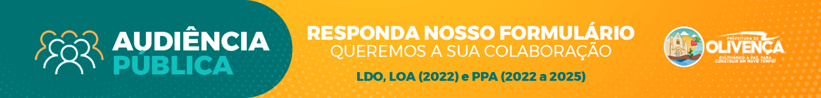 Banner Audiência Pública